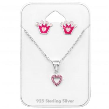 Crown & Heart Set