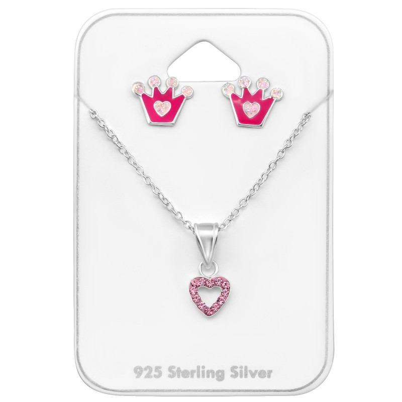 Crown & Heart Set