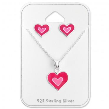 Pinky Heart Set