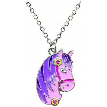 Horse Necklace in Horse Box