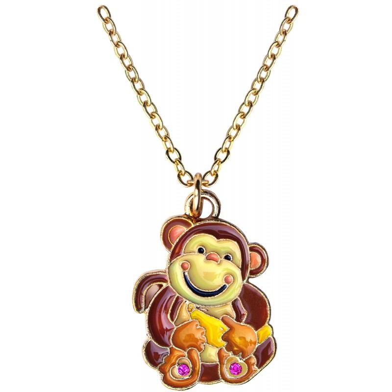 Monkey Necklace in Monkey Box