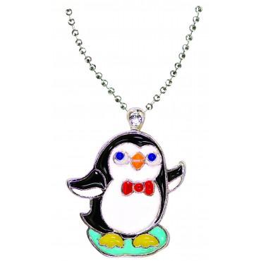 Penguin Necklace in Penguin Box