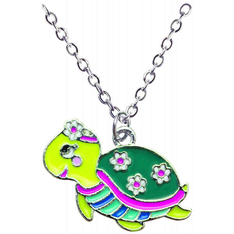 Turtle Necklace in Turtle Box