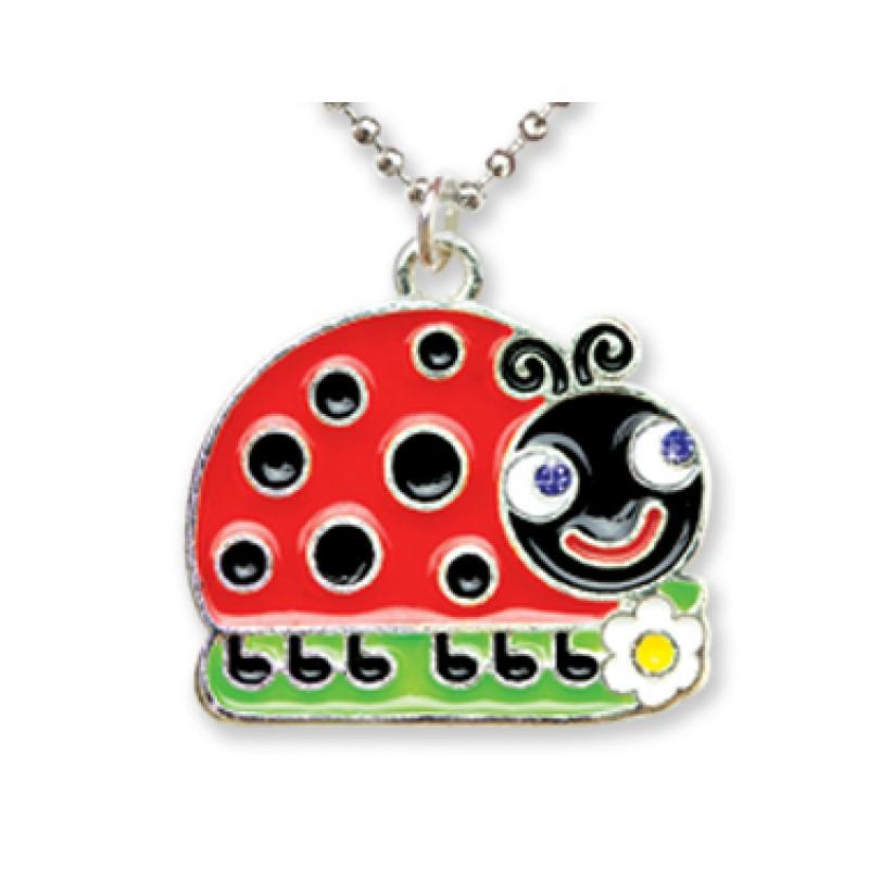 Ladybug Necklace in Ladybug Box
