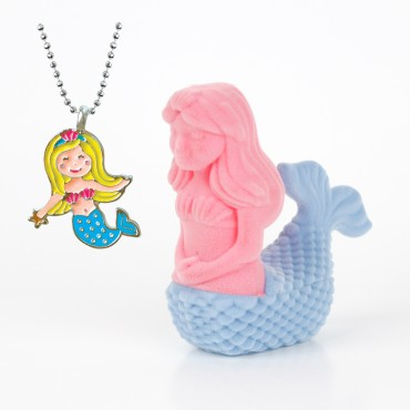 Mermaid Necklace in Mermaid Box
