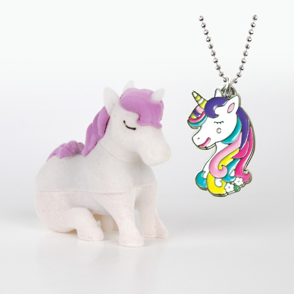 Unicorn Necklace in Unicorn Box