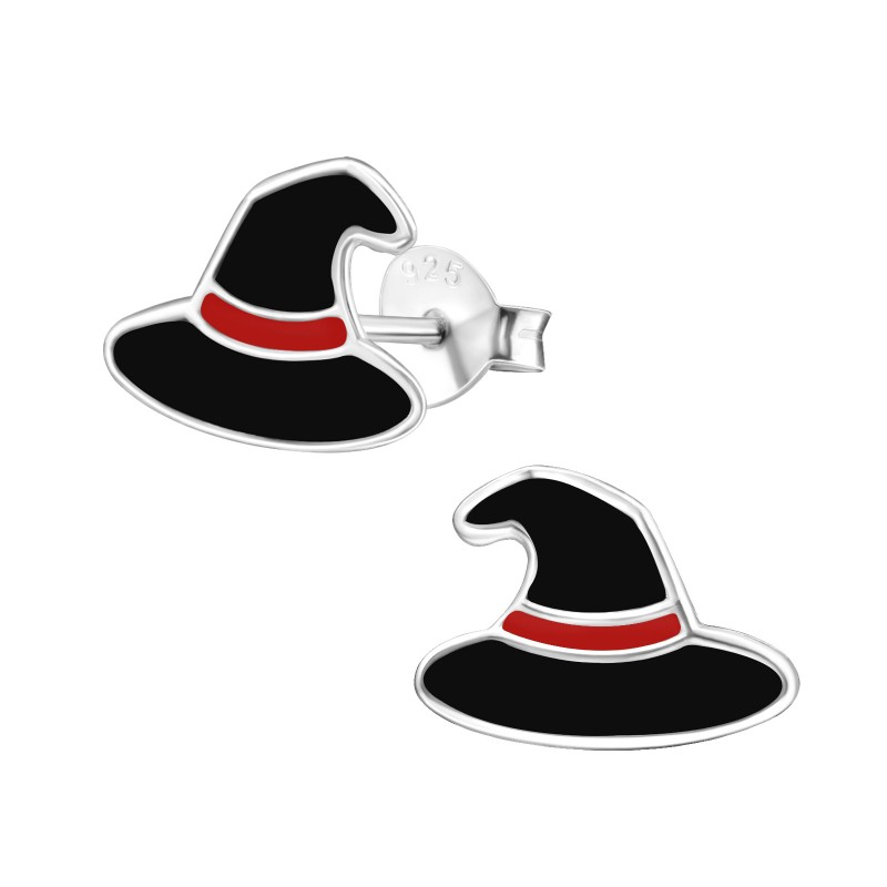 Witch Hat Ear Studs