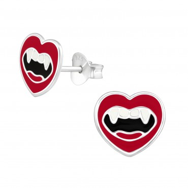 Vampire Mouth Ear Studs