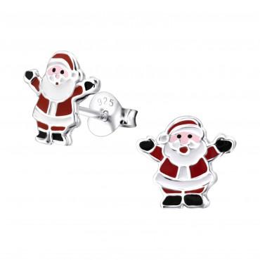 Dancing Santa Ear Studs