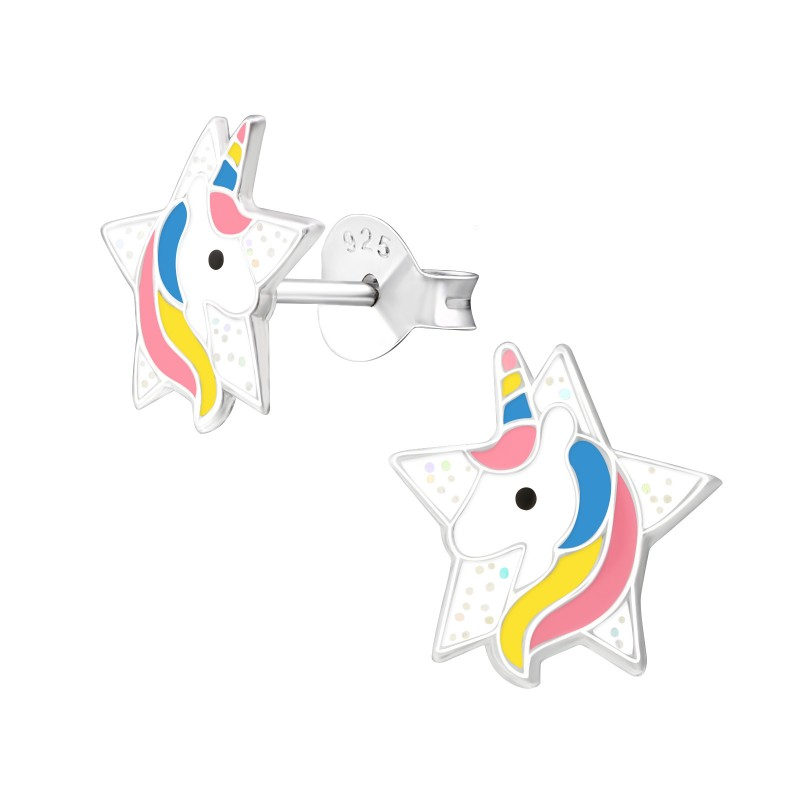 Star Unicorn Ear Studs