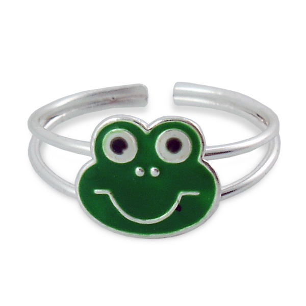Frog Face Ring
