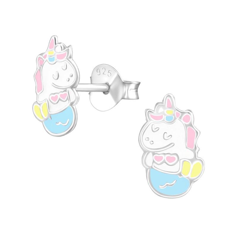 Cute Mernicorn Ear Studs