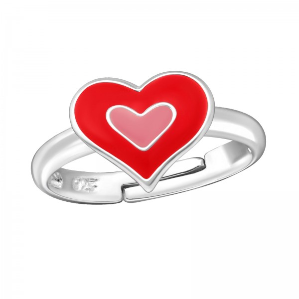 Cute Pinky Heart Ring