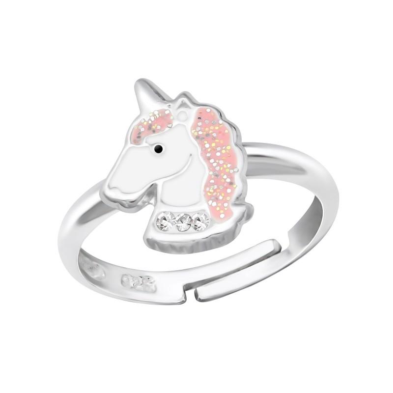 Cute Unicorn Crystal Ring
