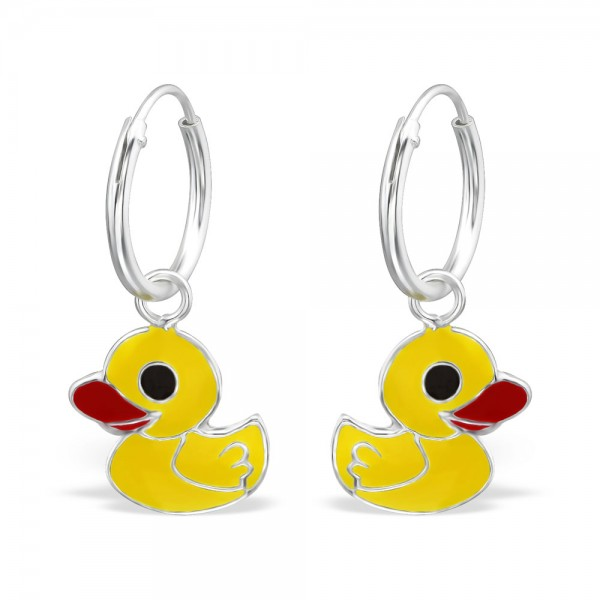 Cute Yellow Duck Hoops