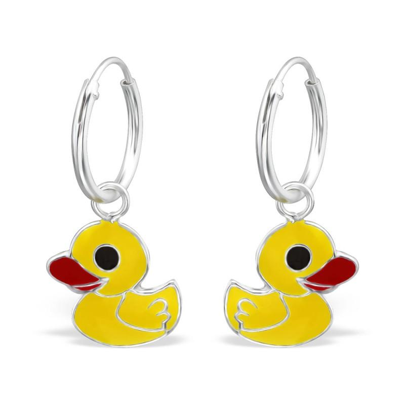 Cute Yellow Duck Hoops