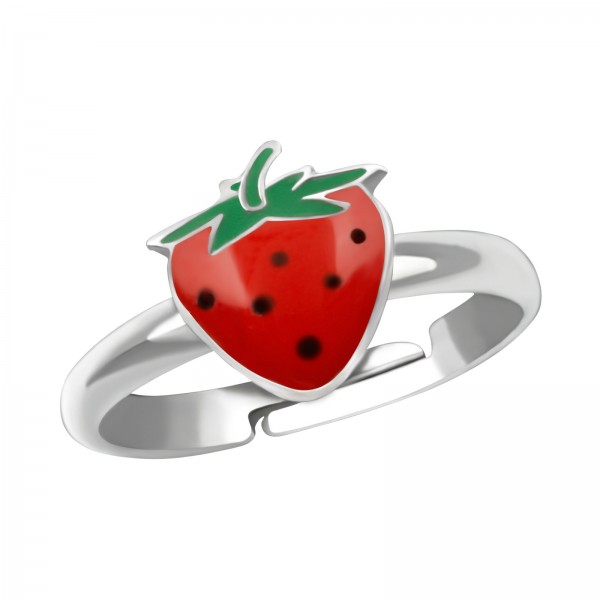 Dotted Strawberry Ring