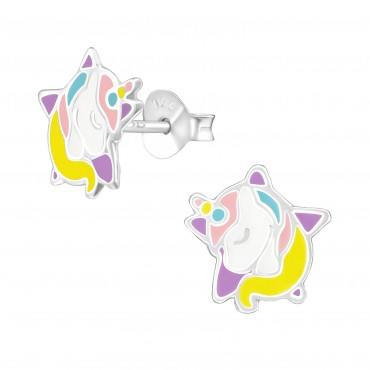 Dreaming Unicorn Star Earrings