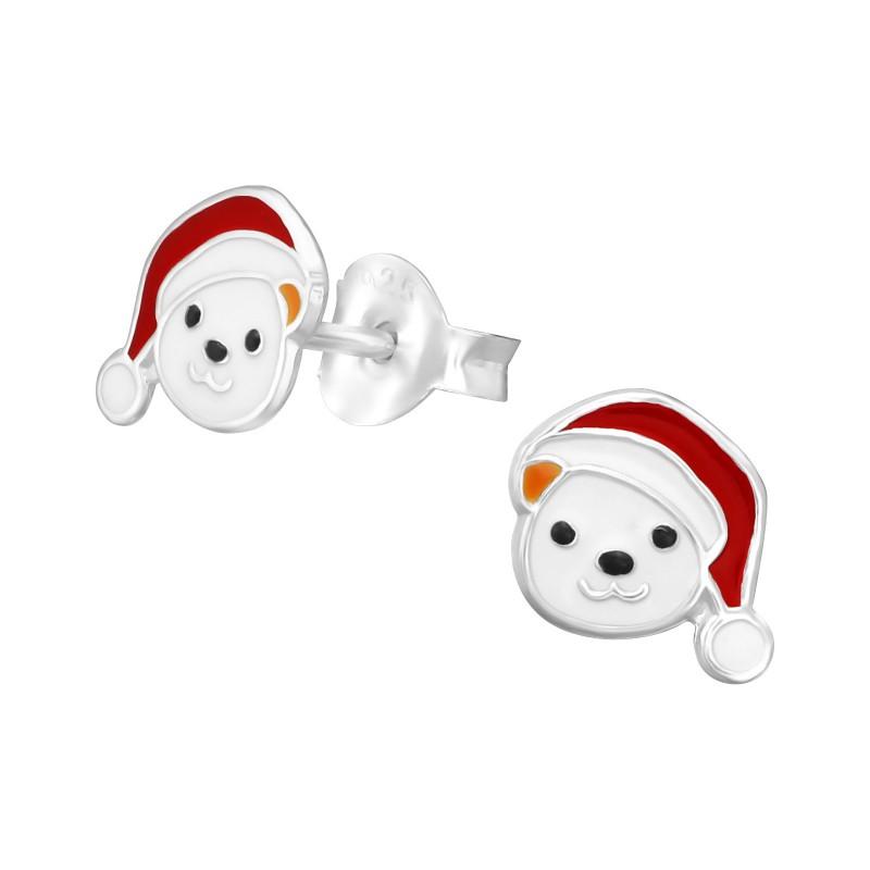 Christmas Bear Ear Studs