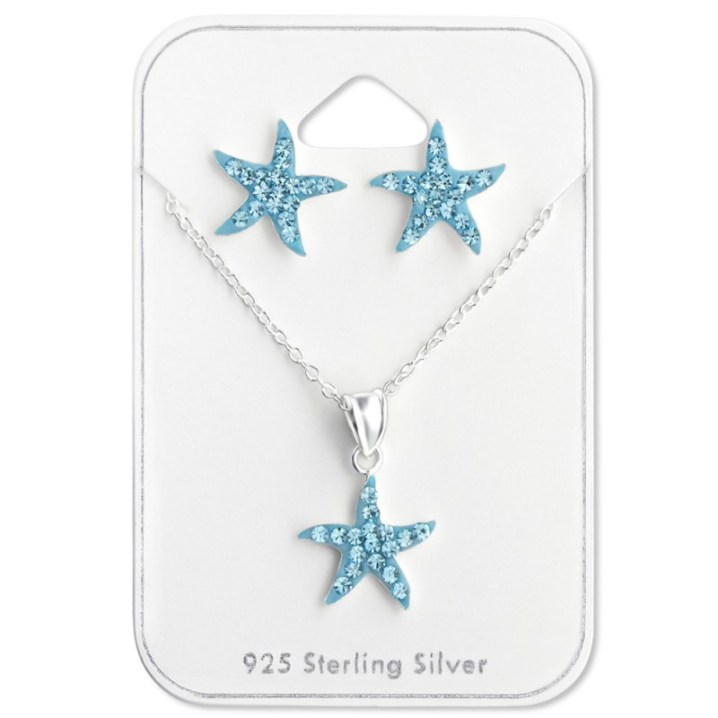 Aqua Star Crystal Set
