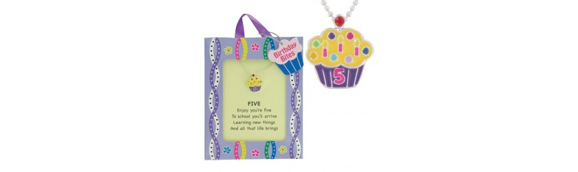 Birthday Cupcake Pendants